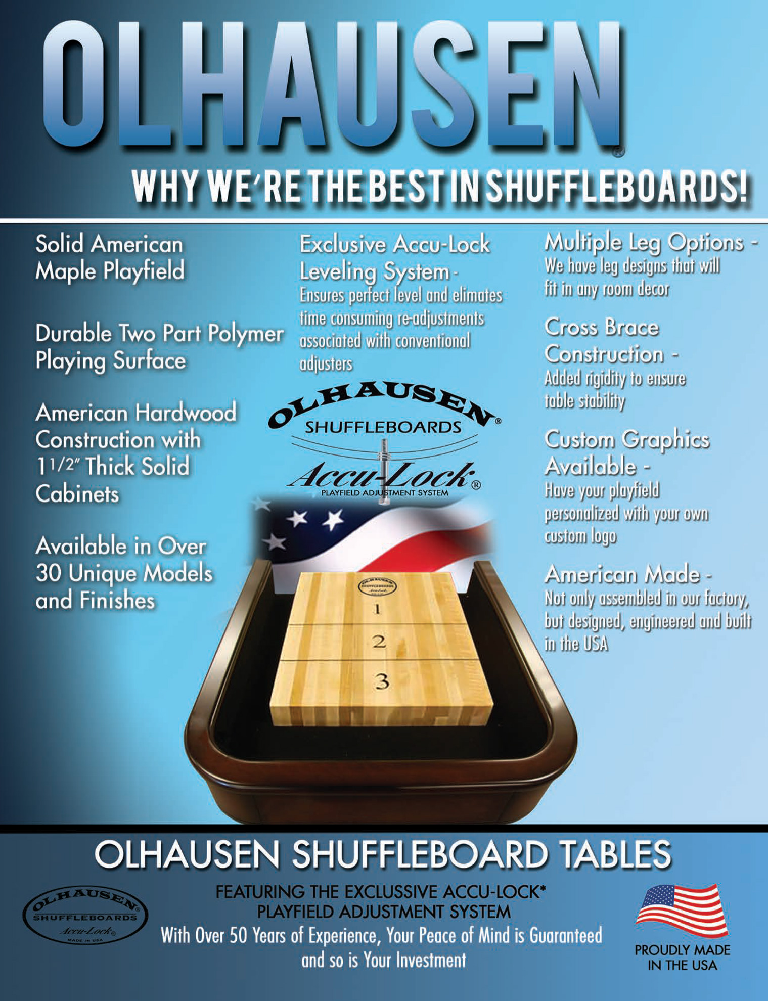 shuffleboard tables macon ga